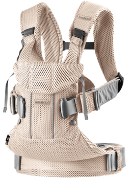 Baby Carrier One Air Pearly Pink Mesh - BABYBJÖRN