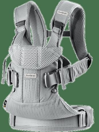 BABYBJORN Baby Carrier Air - Silver, 3D mesh