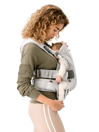 BABYBJORN Baby Carrier Air - Silver, 3D mesh