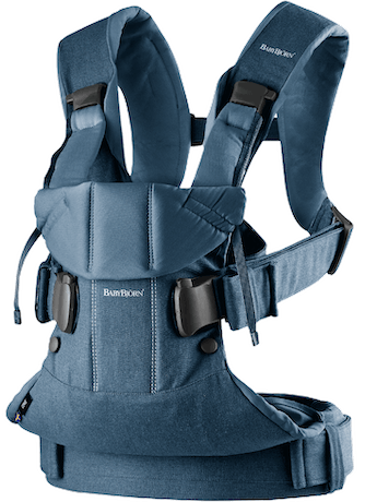 Baby Carrier One Classic Denim Midnight Blue Cotton - BABYBJÖRN