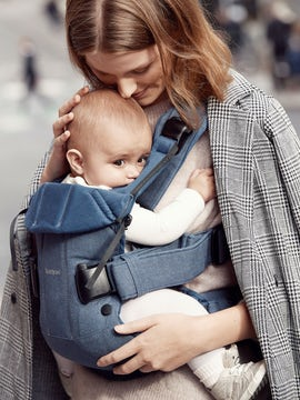 Baby Carrier One Classic Denim Midnight Blue Cottonmix - BABYBJÖRN