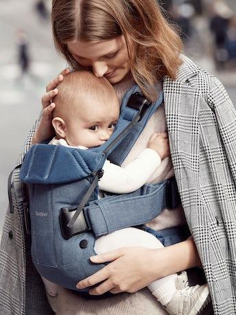 Baby Carrier One Classic Denim/Midnight Blue Cotton - BABYBJÖRN