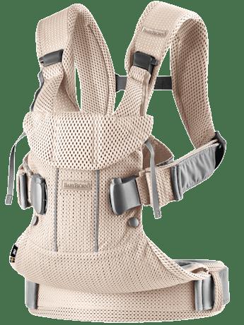 Babytrage One Air Perlmuttrosa 3D Mesh - BABYBJÖRN
