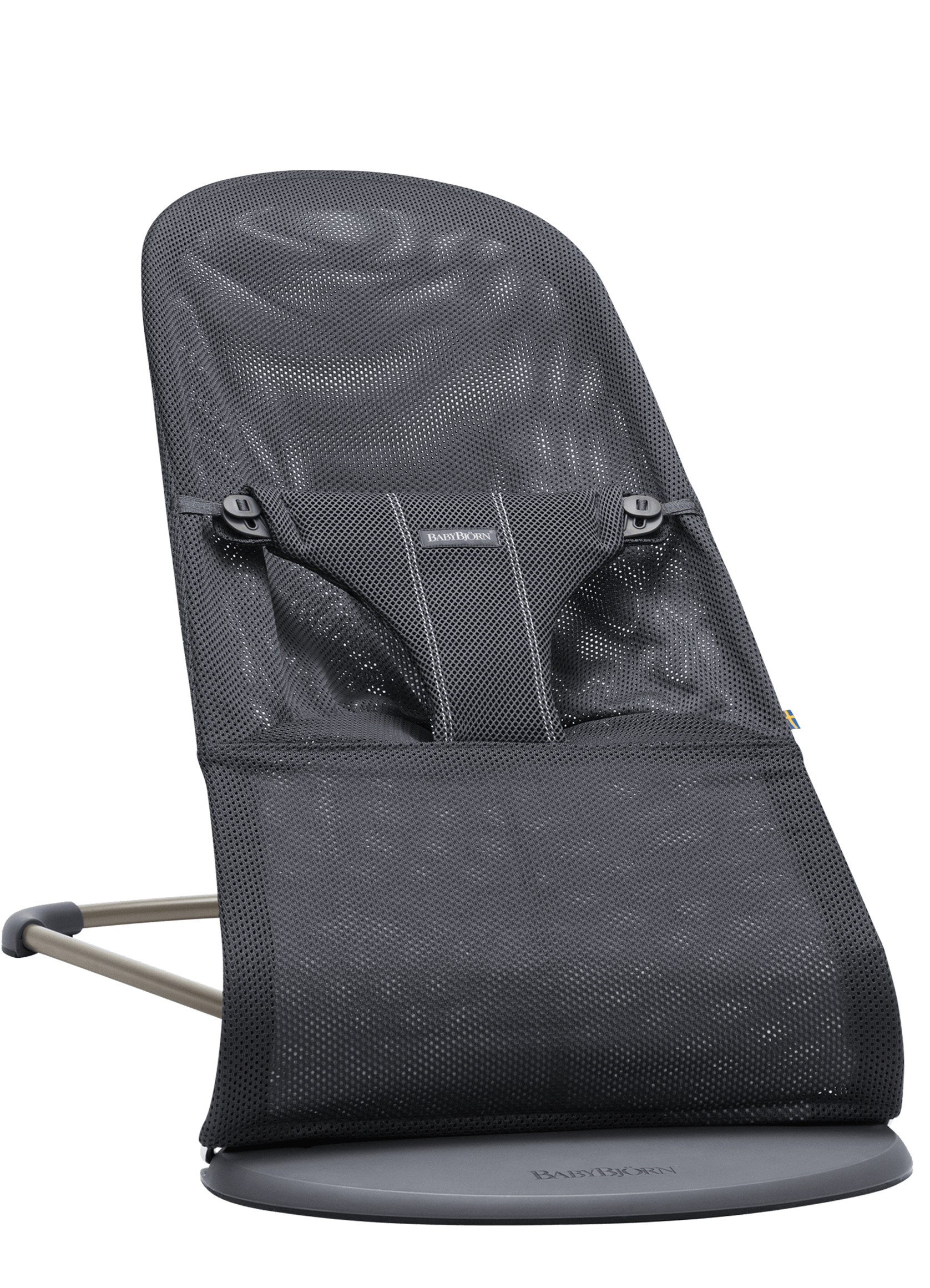BABYBJORN Bouncer Bliss - Anthracite, Mesh