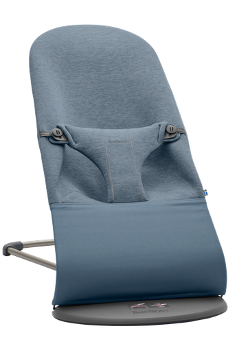 BABYBJORN Bouncer Bliss, Dove blue, 3D jersey