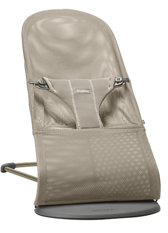 BABYBJORN Bouncer Bliss - Greige, Mesh