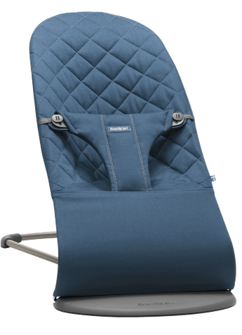 BABYBJORN Bouncer Bliss - Midnight Blue, Cotton