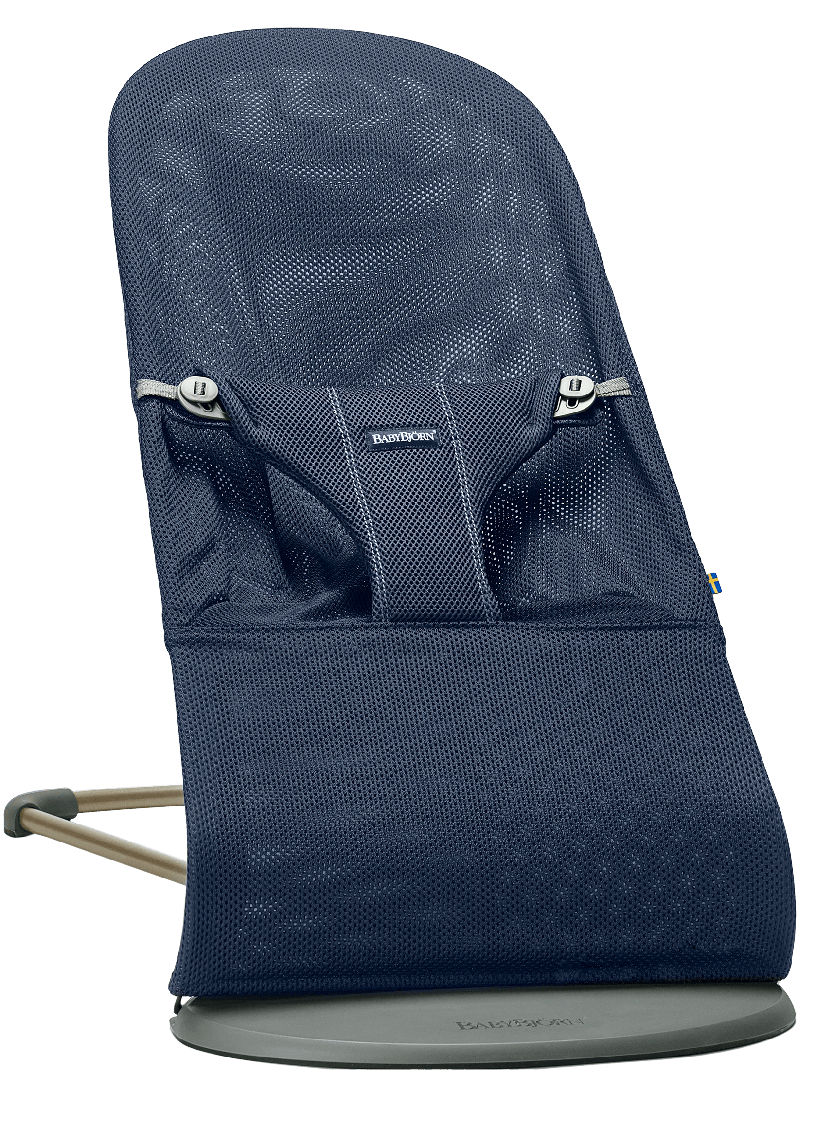 BABYBJORN Bouncer Bliss - Navy blue, Mesh