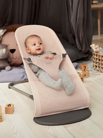 BABYBJORN Bouncer Bliss - Pearly Pink, Mesh