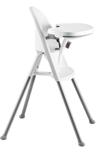 Chaise Haute Blanc Gris - BABYBJÖRN