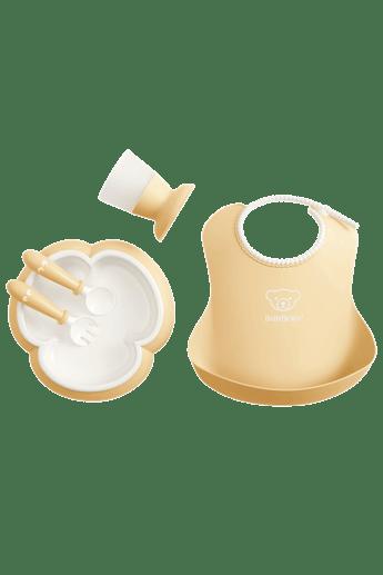 Coffret Repas Bébé Jaune Pastel - BABYBJÖRN