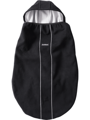 Windproof cover for Baby Carrier in Black - BABYBJÖR