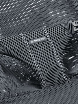 Fabric Seat for Bouncer Bliss Anthracite in soft and airy mesh - BABYBJÖRN
