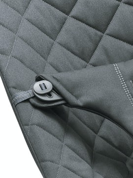 Extra Fabric Seat for Bouncer Anthracite Grey Cotton - BABYBJÖRN