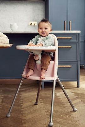 High Chair Powder Pink - BABYBJÖRN