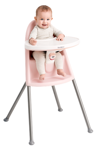 High Chair in Pink Grey - BABYBJÖRN