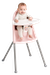High Chair Powder Pink Grey in safe design - BABYBJÖRN