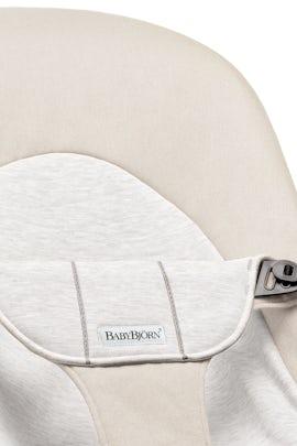 Housse pour Transat Balance Soft Gris Beige/Gris en Coton Jersey - BABYBJÖRN