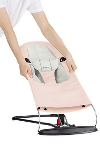 Housse pour Transat Balance Soft Rose Clair Cotton Jersey - BABYBJÖRN