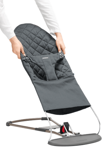 Housse pour Transat Bliss Anthracite en Cotton - BABYBJÖRN