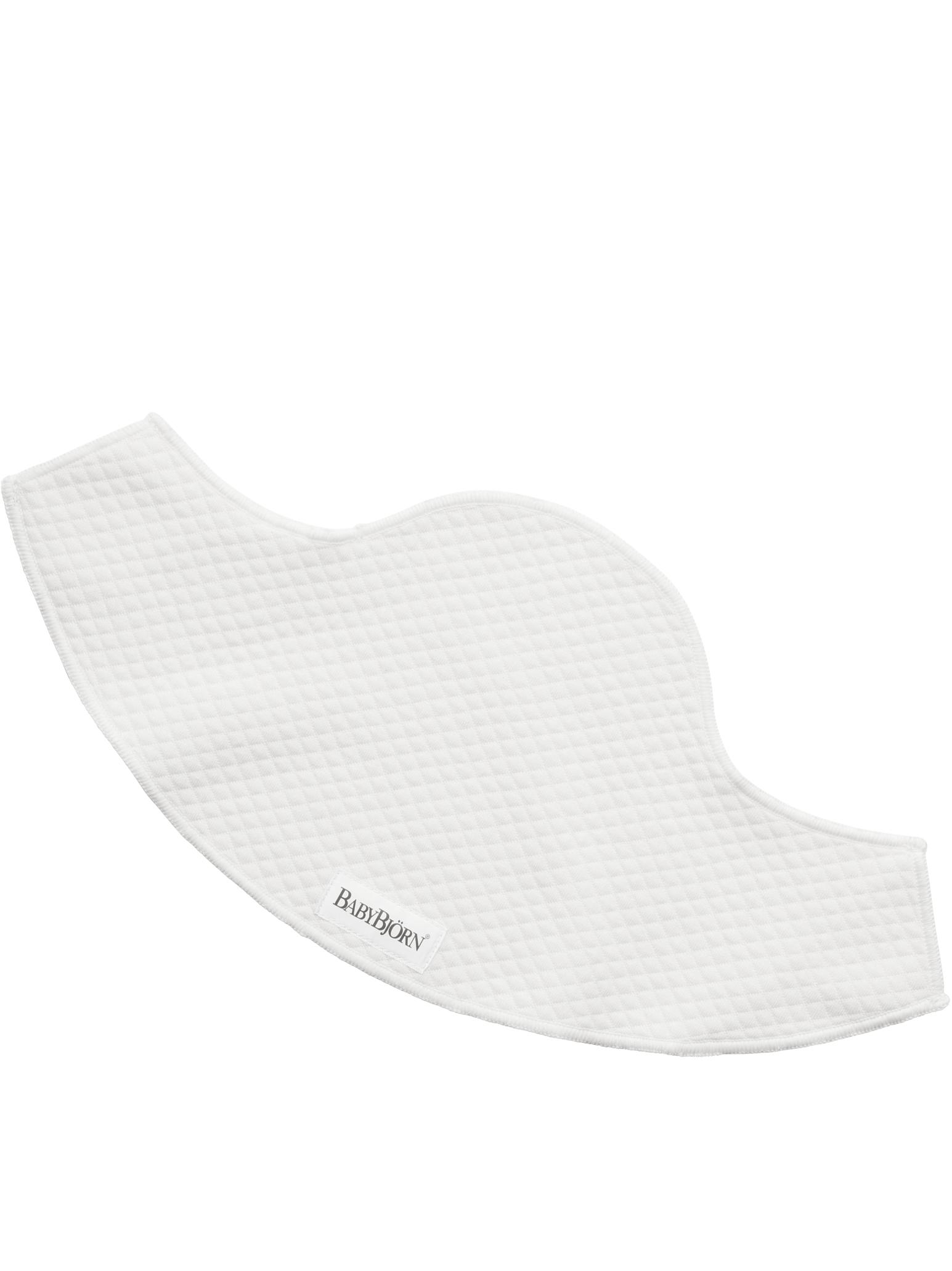 BABYBJÖRN Lätzchen für Babytrage Mini und Move - Weiß