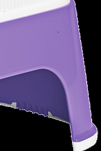 Marchepied stable et antidérapant Mauve - BABYBJÖRN