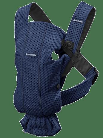 Porte-bébé Mini Bleu Marine en 3D Mesh - BABYBJÖRN