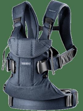 Porte-bébé One Air Bleu Marine en 3D Mesh - BABYBJÖRN