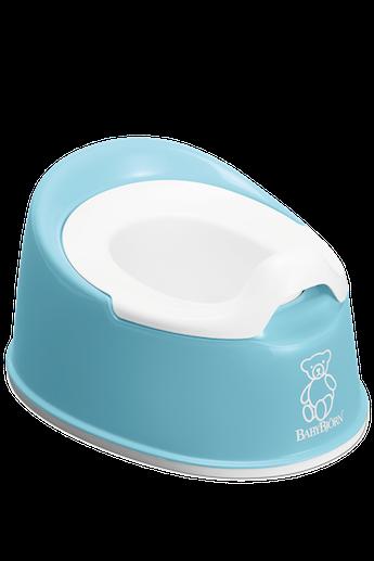 Pot Smart en plastique sans BPA, Turquoise - BABYBJÖRN