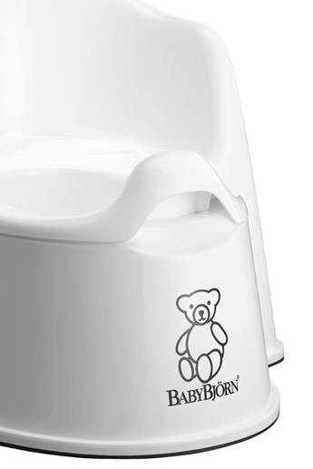 BABYBJORN Potty Chair - White