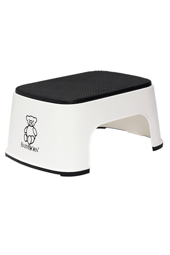 BABYBJORN Step stool - White