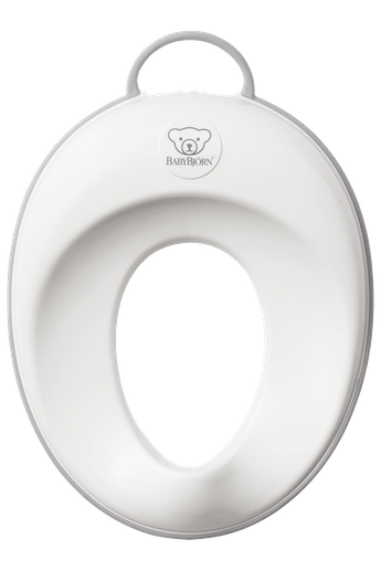 Toilet Training Seat White Grey - BABYBJÖRN