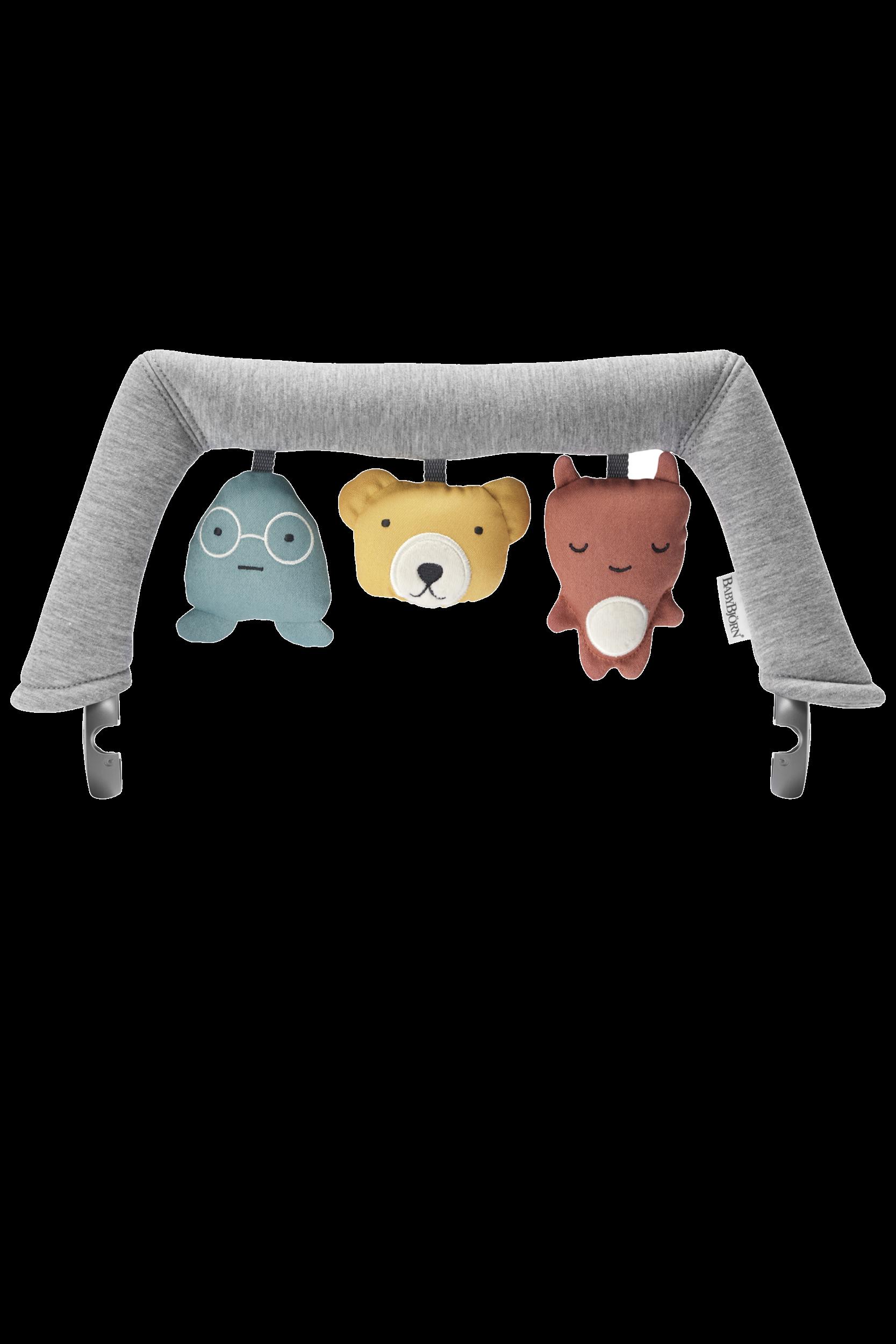 BABYBJÖRN Spielzeug für Babywippe – Weiche Freunde