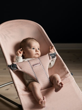 Transat Bliss - Soft Selection Rose Nacré en Mesh - BABYBJÖRN