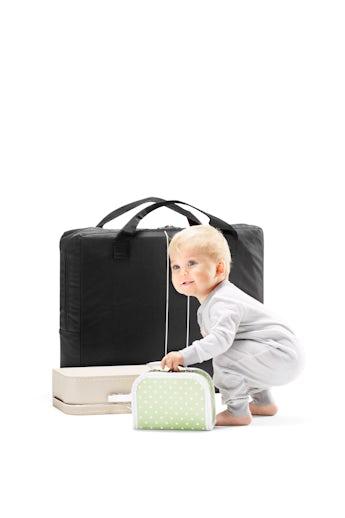Transporttasche für Reisebett Schwarz - BABYBJÖRN