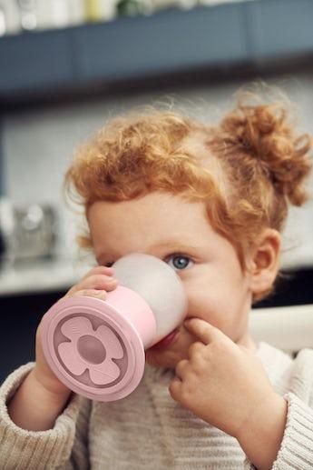 Verre pour Bébé, lot de 2, Rose Pastel - BABYBJÖRN