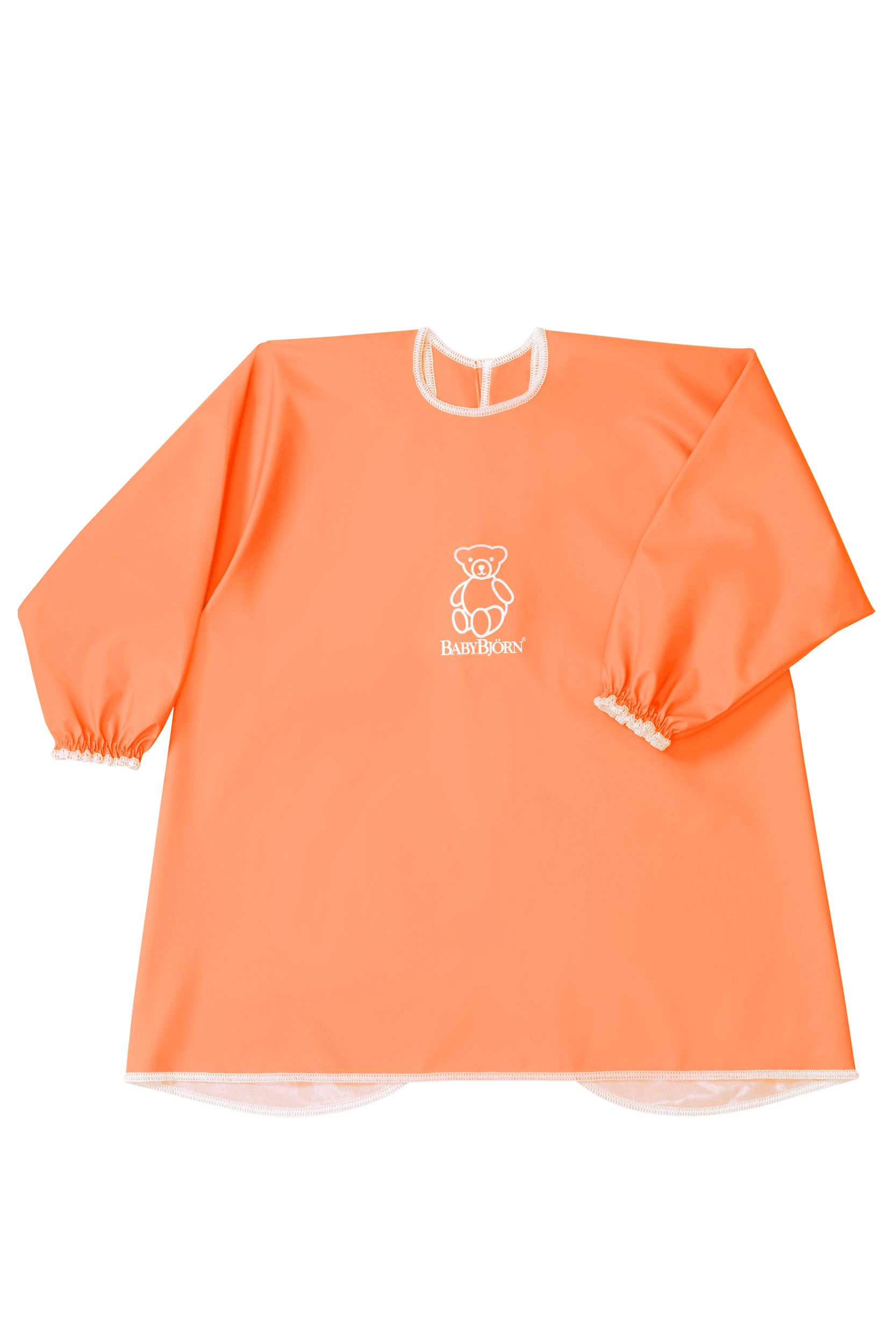 Long Sleeve Bib Orange - BABYBJÖRN