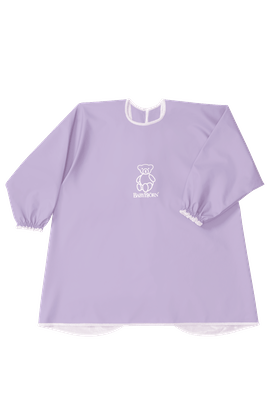 Long Sleeve Bib Purple - BABYBJÖRN
