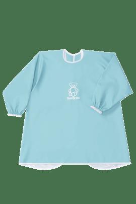 Long Sleeve Bib Turquoise - BABYBJÖRN