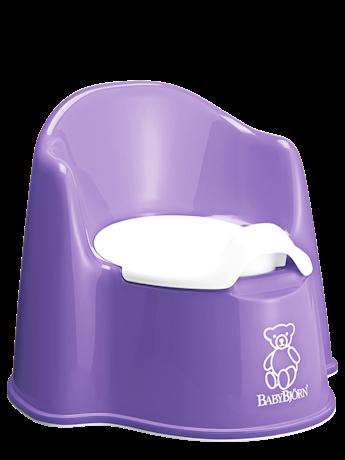 Pot fauteuil solide et confortable Mauve - BABYBJÖRN