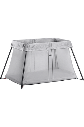 Travel Crib Light Silver Mesh - BABYBJÖRN