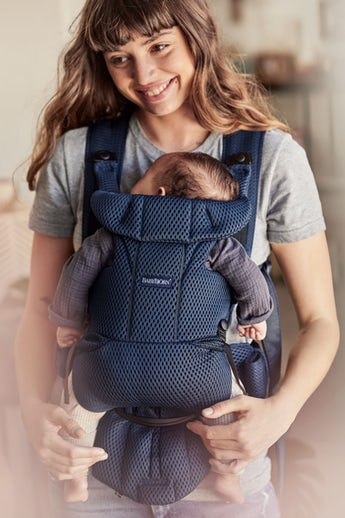 Baby Carrier Move in Navy Blue Mesh - BABYBJÖRN