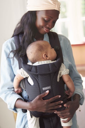 Baby Carrier Move in Anthracite fresh 3D mesh - BABYBJÖRN