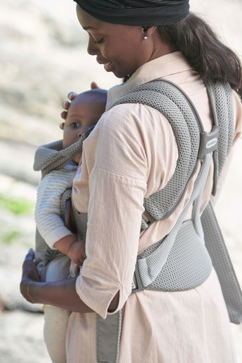 Baby Carrier Move in Grey 3D mesh - BABYBJÖRN