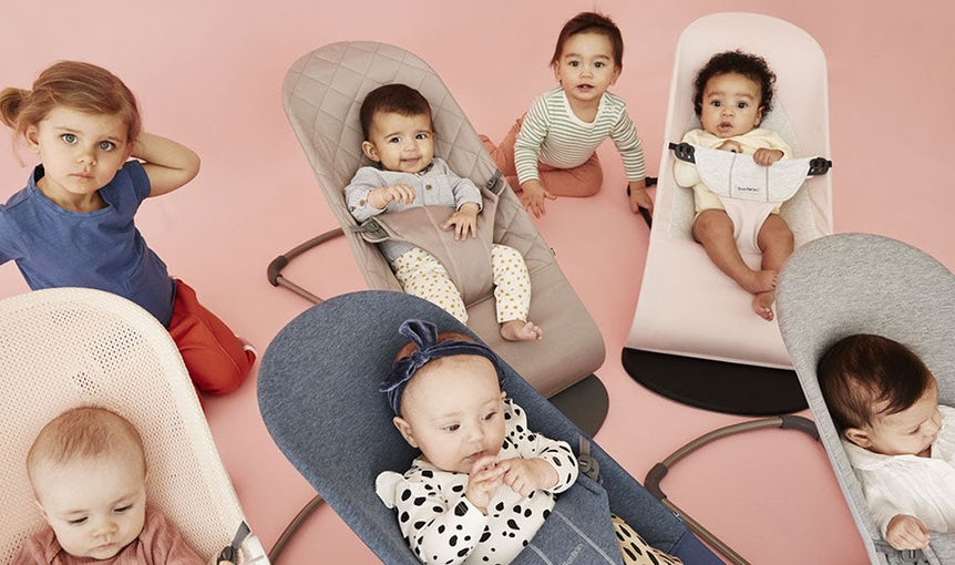 Baby Bouncers in 3D Jersey, Cotton or airy Mesh - BABYBJÖRN