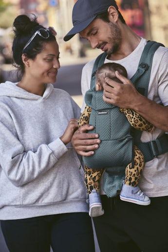 Babytrage Move Salbeigrün 3D Mesh - BABYBJÖRN