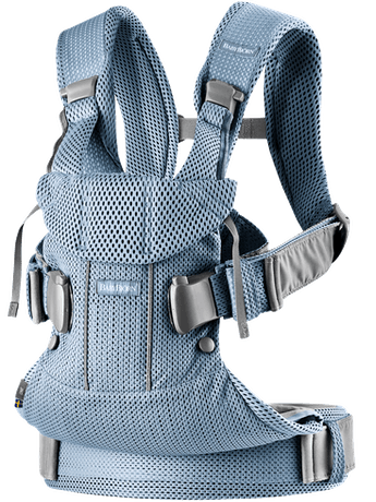 Baby Carrier One Air Slate Blue 3D Mesh - BABYBJÖRN
