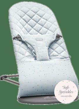 Babywippe Bliss Blau Streusel Cotton - BABYBJÖRN