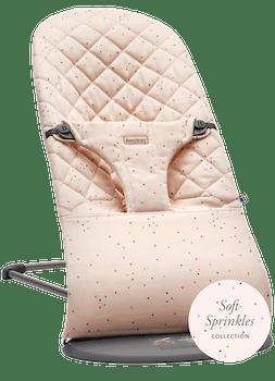 Babywippe Bliss Rosa Streusel Cotton - BABYBJÖRN