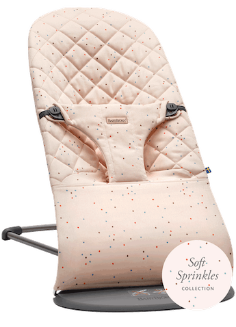 Babywippe Bliss Rosa Streusel Cotton - BABYBJÖRN